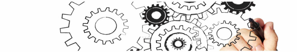 Drawing cogs with a marker