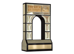 The Arch of Europe gold trophy
