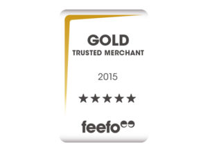 Feefo gold merchant logo