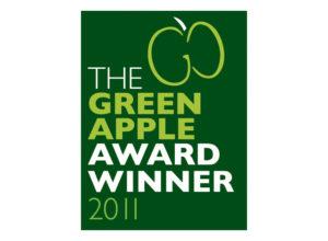 The Green Apple Award Winner 2011 logo
