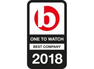 One to watch best company 2018 logo